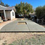 Backyard Patio Concrete